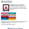 Look at Liba's full line of Flame Retardant Fabrics!