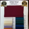 Liba's Tissue Faille Fabric- New Color Cards Available!