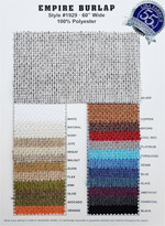 Empire Burlap Colorcard #1